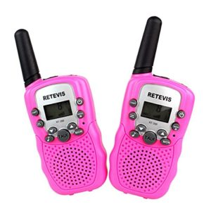 Kinder Walkie Talkie Kinderspielzeug - Retevis RT-388 UHF 446.00625-446.09375MHz 8CH Walkie Talkie für Kinder mit LC-Display