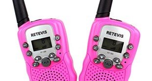 Kinder Walkie Talkie - Retevis RT-388 UHF 446.00625-446.09375MHz 8CH Walkie Talkie für Kinder mit LC-Display