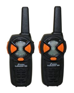 Kinder Walkie Talkie - Stabo Elektronik 20100 - Stabo Freecomm Funkhandy, schwarz