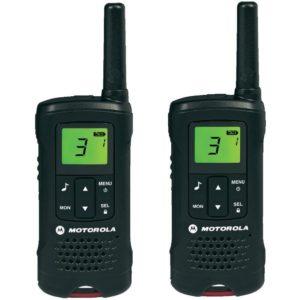 Motorola Walkie Talkie - Motorola TLKR T60 PMR-Funkgerät (Reichweite bis zu 8 km)