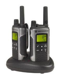 Motorla Walkie Talkie - Motorola TLKR T80 PMR-Funkgerät (Reichweite bis zu 10 km)