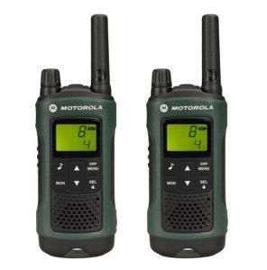 Motorola Walkie Talkie - Motorola TLKR T81 Hunter Duo PMR Funkgerät (bis zu 10km Reichweite)