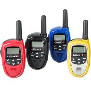 Walkie Talkie 4er Set - Ultratec Walkie Talkie Set 4-teilig inklusive Batterien