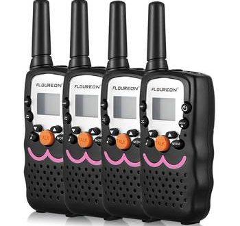 walkie talkie 4er set infos tipps kaufempfehlungen. Black Bedroom Furniture Sets. Home Design Ideas