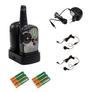 Walki Talki Test - Topcom Twintalker 1302 PMR mit beleuchtetem LC-Display