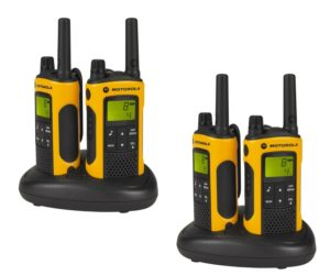 Walky Talky Test - Motorola TLKR T80 Extreme Quadpack PMR Funkgeräte nach IPx4