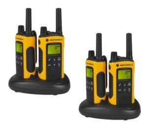 Walky Talky Test - Motorola TLKR T80 Extreme Quadpack PMR Funkgeräte nach IPx4
