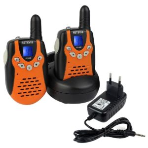retevis walkie talkie test
