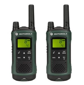 Walkie Talkie mit Headset - Motorola TLKR T81 Hunter Duo PMR Funkgerät Duo Pack